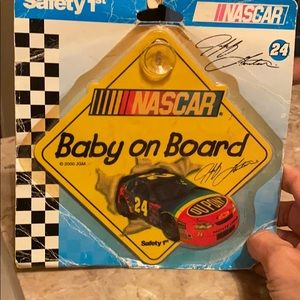 NASCAR baby on board sign new